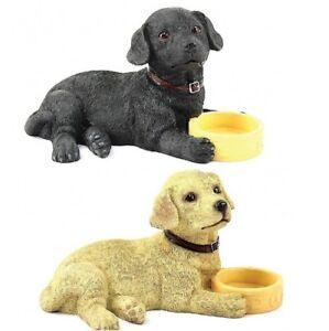 Yellow Golden Labrador Dog Ornament The Leonardo Collection Walkies Statue Home