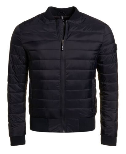 New Superdry Bomber Fuji Jacket Navy Mens HUxAH0Tw