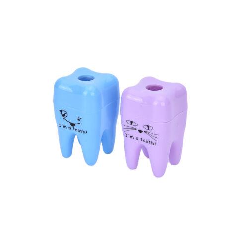 Super Cute Tooth Pattern Pencil Sharpener School Kid/'s Office Supplies/_sh