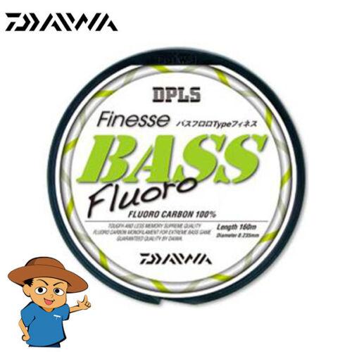 Daiwa BASS FLUORO TYPE-FINESSE fishing fluorocarbon line 160m 175yd from Japan