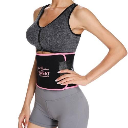Thigh Waist High Waist Trimmer Workout Wrap Belt Sauna Slimming Women Shaper