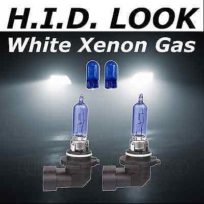 HB3 9005 501 65w White Xenon HID Look Headlight High Main Beam Bulbs E Marked
