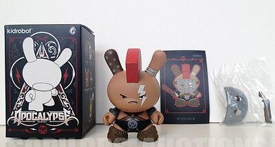 Kidrobot Apocalypse Series Huck Gee Dog Dunny Vinyl Figure