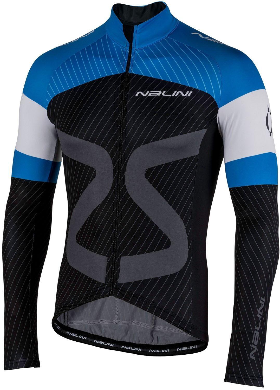 Nalini PRO TC LS Jersey Radtrikot Langarm black blue (UVP  69,90 EUR)
