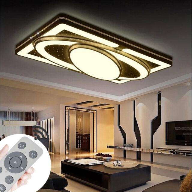 90W LED Deckenlampe Deckenleuchte Wohnzimmer Deckenbeleuchtung Küchenleuchte