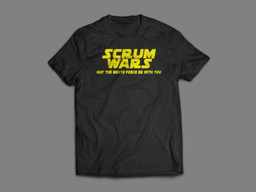 Scrum Wars Funny Rugby Men Unisex Gildan T-Shirt