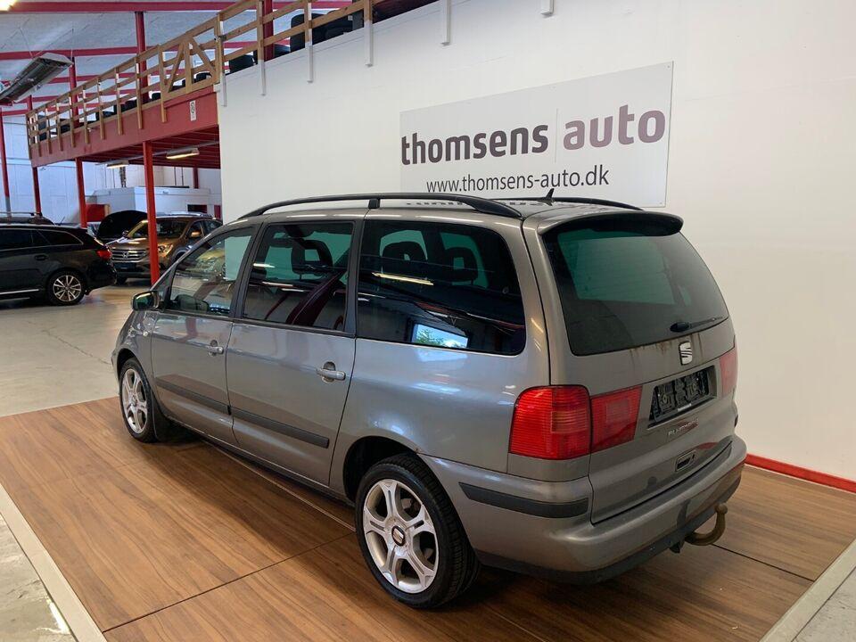Seat Alhambra 1,9 TDi 130 Sport Diesel modelår 2005 km
