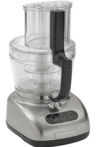 Merveilleux KitchenAid 12 Cup Food Processor KFP750NK Big Size Capacity Brushed Nickel  Metal