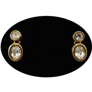 Swarovski-orecchini-originali-donna-a-perno-dorati-con-cristalli