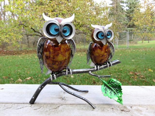 Metal Owl Garden Sculptures Designs