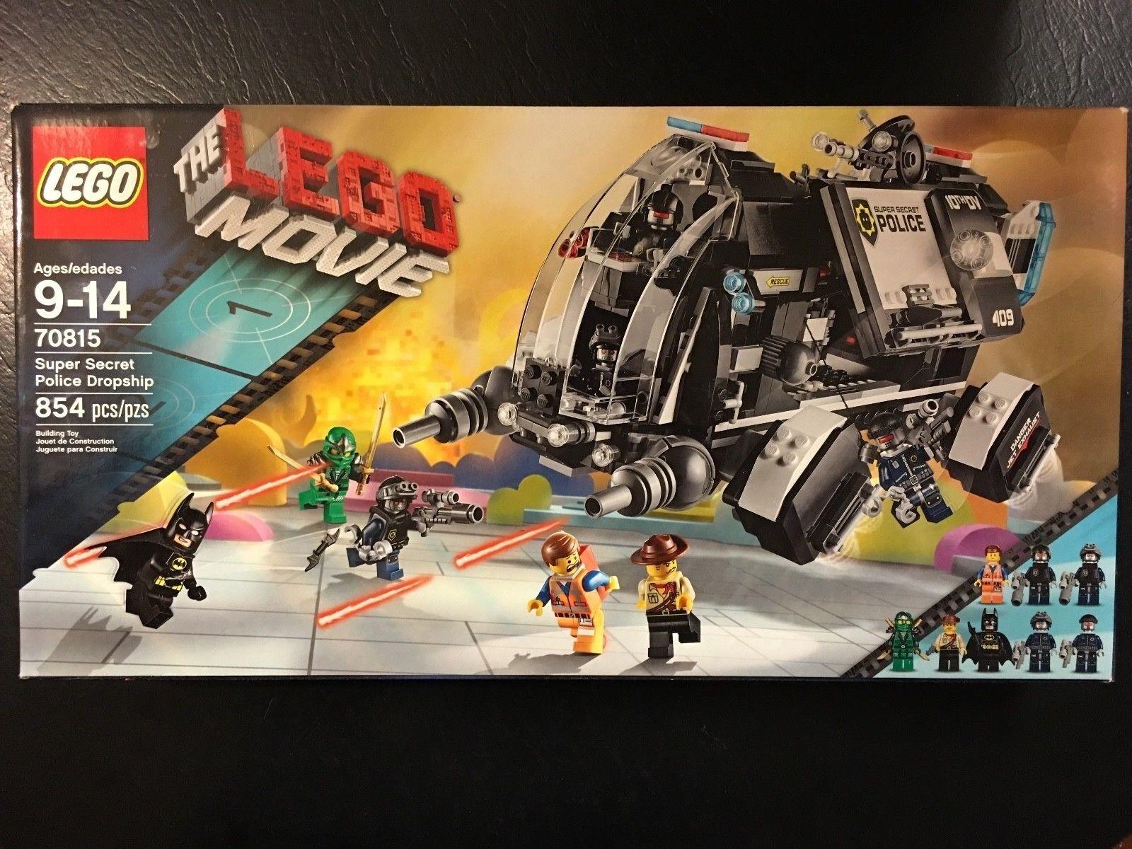LEGO MOVIE 70815 Super Secret Police Dropship Set - FACTORY SEALED - RETIrosso