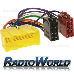 Car-Stereo-Radio-ISO-Adaptor-Lead-Wiring-Loom-Harness-Connector-Cable-FOR-Nissan