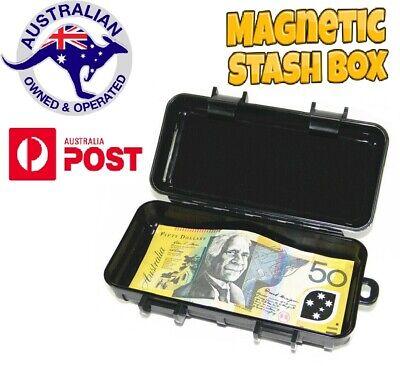 Car Magnetic Safe Box Storage Secret Stash Key//Money Holder Hidden Compartment