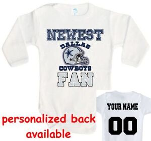 Image is loading Baby-bodysuit-Newest-fan-Dallas-Cowboys-One-Piece- 5d929214e