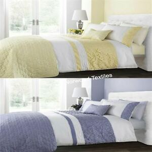 Sophia Lemon Violet Duvet Quilt Cover Throw Or Filled Cushion Sold