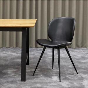Spisebordsstol, Læder, b: 56 l: 85