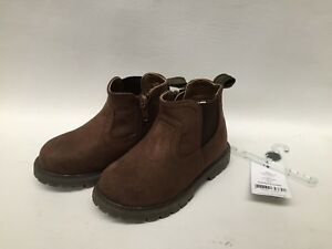 Brand New Boys Carters Brown Ankle Boots Uk Infant 7 Uk Infant 12