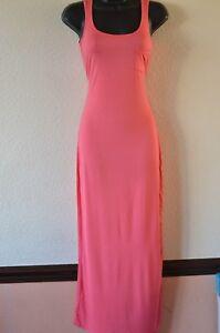 ATMOSPHERE-UK-Size-10-Ladies-Lovely-Pink-Sleeveless-Maxi-Length-Dress