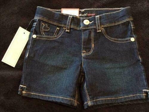 Heart Pockets 2T or 4T NWT Jordache Toddler/'s Navy Blue Denim Bermuda Shorts