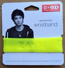 Office Depot ONE DIRECTION Limited Edition Rubber Wristband Zayne Yellow 1D+OD