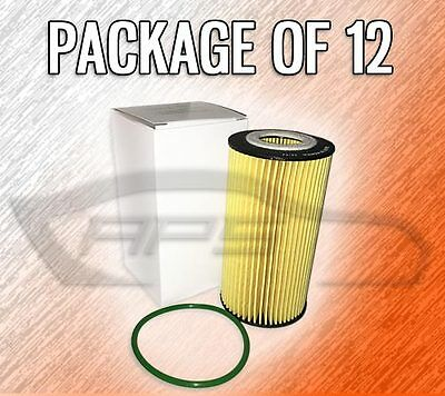 Lot of 4 Engine Oil filter Fits VOLVO C30 C70 S40 S60 S60 CROSS COUNTRY V50 V60
