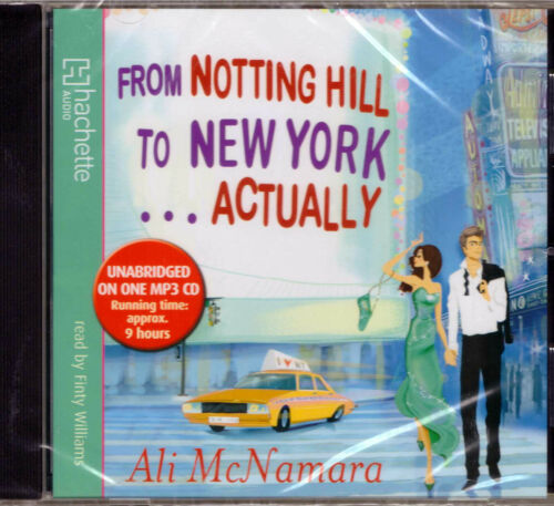 Hörbuch Englisch | From Notting Hill to New York ... Actually | MP3-CD 9 Stunden