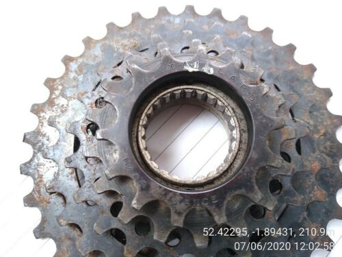 VINTAGE SACHS MAILLARD NORMANDY RALEIGH PEUGEOT 5 Speed freewheel 14-28