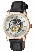 Gv2 by Gevril 2690 Vanderbilt Limited Edition Automatic Leather Men's Watch