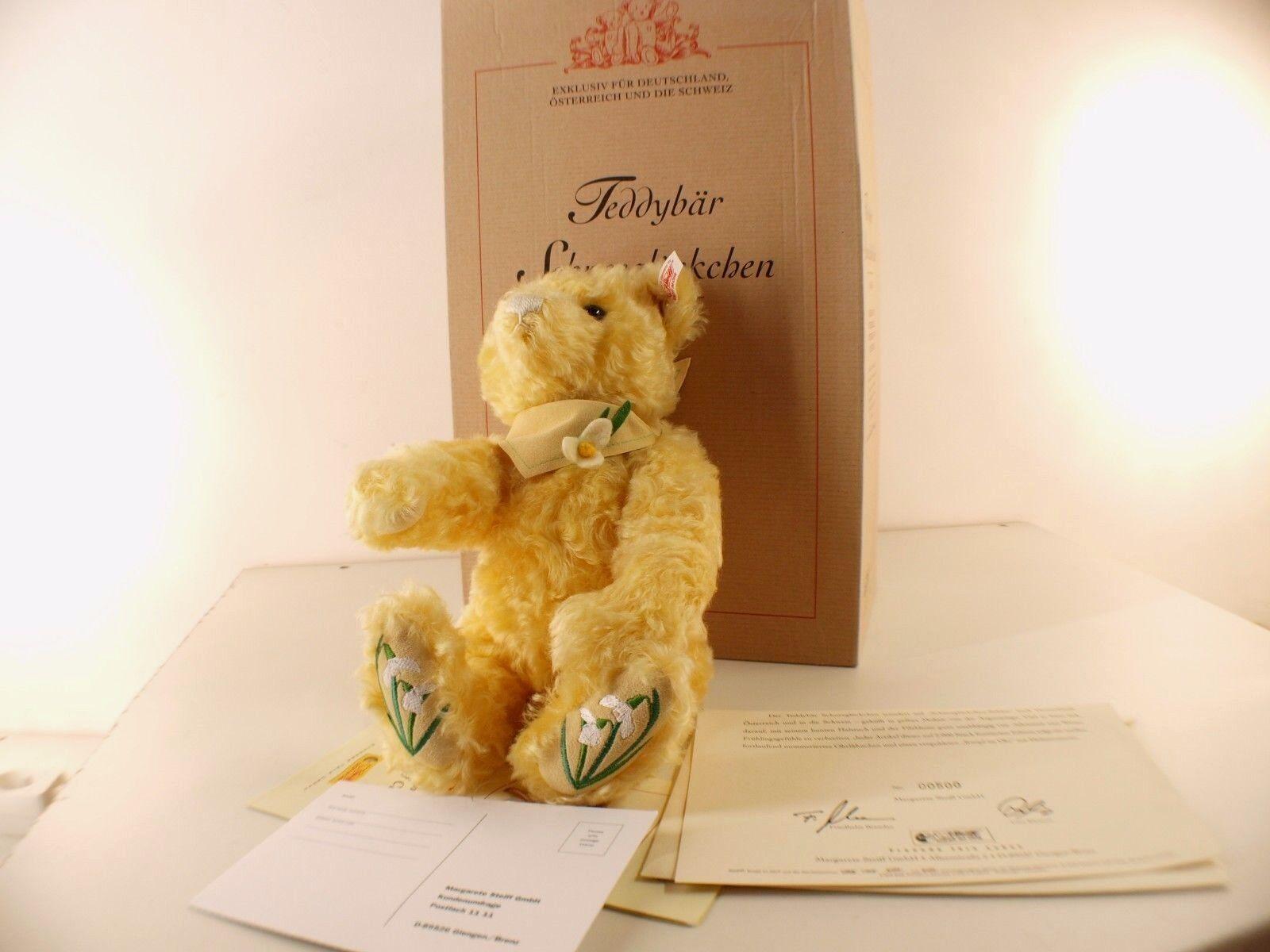 Steiff 661563 TEDDY BEAR SCHNEEGLÖCKCHEN SCHNEEGLÖCKCHEN SCHNEEGLÖCKCHEN 2004 amarillo ours neuf edn 2000 pieces  Las ventas en línea ahorran un 70%.
