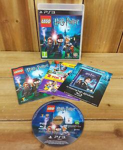 Lego Harry Potter Años 1-4 Playstation 3 PS3 Excelente Estado Con Manual ver ph