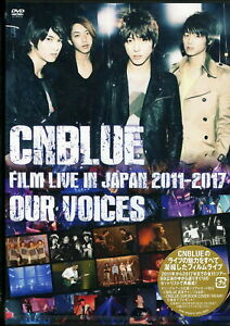 CNBLUE-CNBLUE-FILM-LIVE-IN-JAPAN-2011-2017-OUR-VOICES-JAPAN-2-DVD-K81-zd