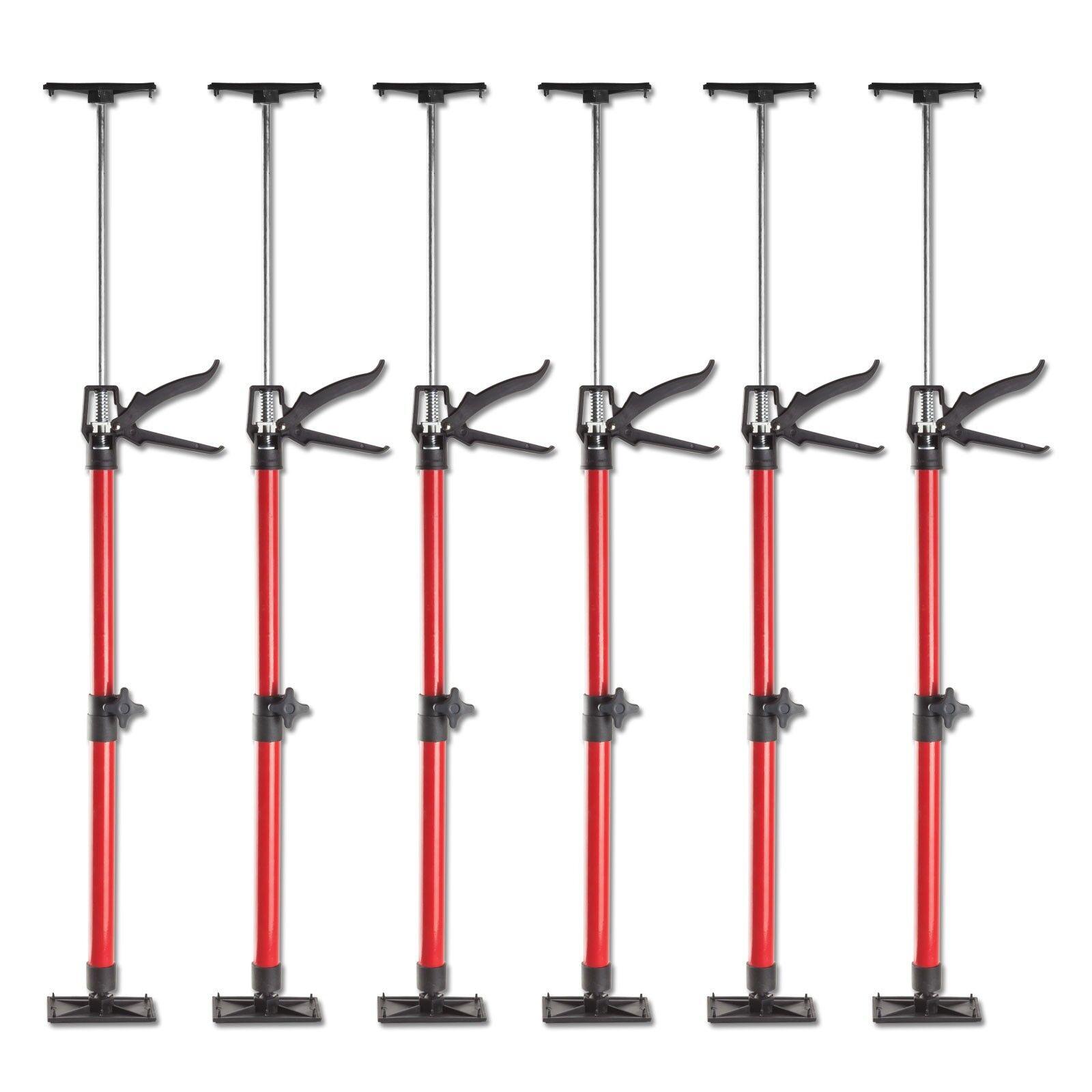 6x Türspanner Türfutterstrebe Türspreize 50-115cm Tür Zargenspanner 30kg Stahl