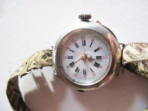 Ancienne-montre-gousset-bracelet-pour-dame-n-37507