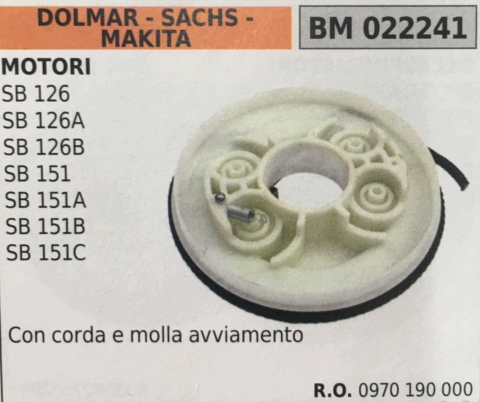PULEGGIA AVVIAMENTO BRUMAR DOLMAR - SACHS - MAKITA BM022241