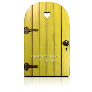 Yellow-Hand-Made-Fairy-door-for-tooth-fairy-surprise-or-fairy-garden