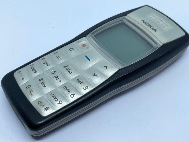 Nokia 1100-Jet Black (entsperrt) Handy (guter Zustand)