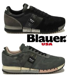 dc8cc92b3b Dettagli su Scarpe da donna BLAUER MELROSE invernali camoscio sneakers  casual