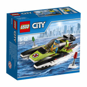 LEGO-City-60114-Rennboot-NEU-OVP
