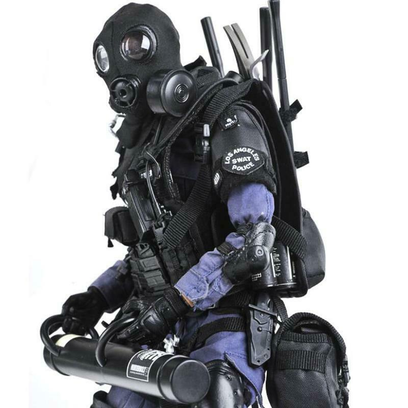 1 6 SWAT Breacher Soldier Special Policeman Action Figure Toy Collection Model