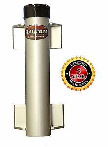 Plattinum Fishing Pole Holder Fishing Rod Holder Aluminum Single Flush Mount USA