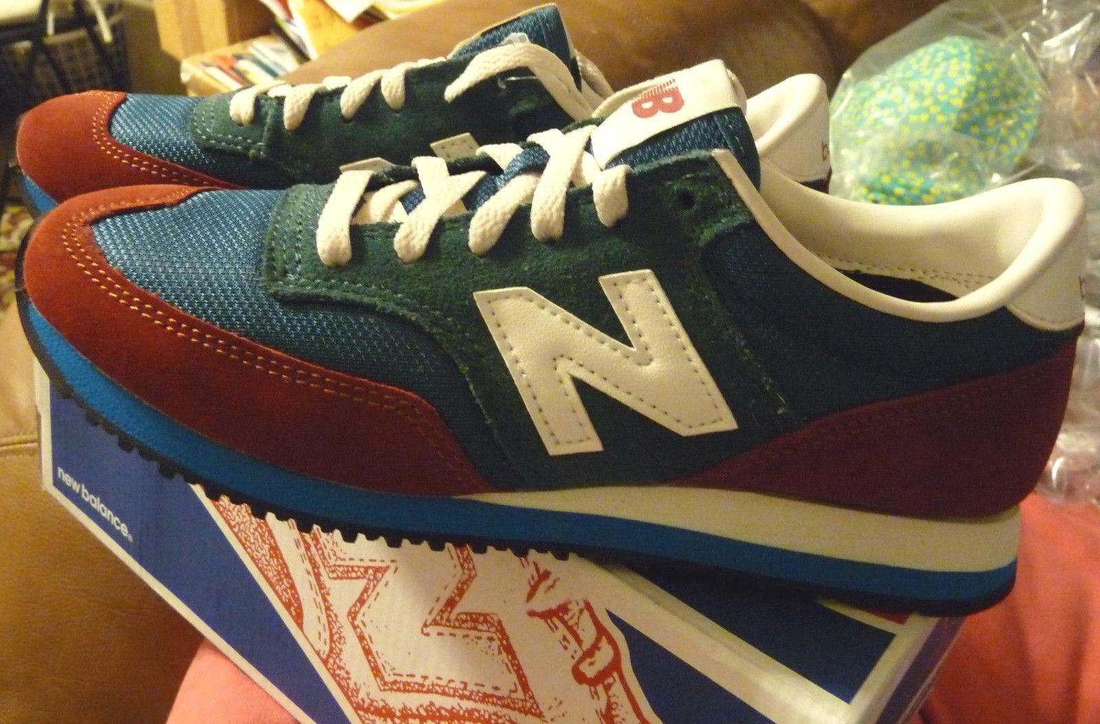 NIB New Balance 620 Sneakers for J.Crew 9.5 Damens Schuhes Sneakers BURNT CRIMSON
