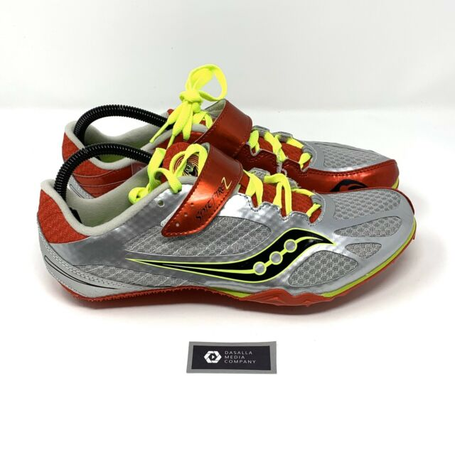 New SAUCONY SPITFIRE 2 Mens Red Silver