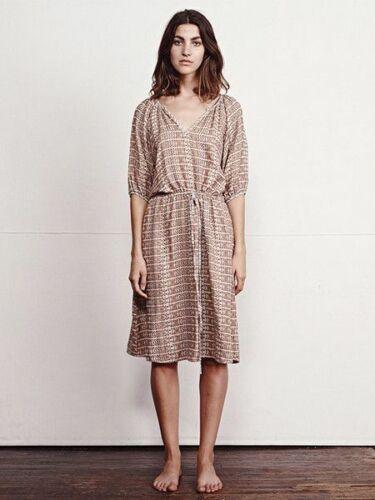 "ACE & JIG ""Meadow"" Dress SZ XS Print: Raffia Madr"