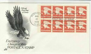united states 1978 first day of issue stamps cover ref 20011