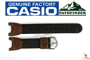 casio pathfinder pas 400b 5v original fishing timer brown nylon rh ebay com Watch Casio Sport Pathfinder Manual Casio Sport Pathfinder PAW-1100 Manual