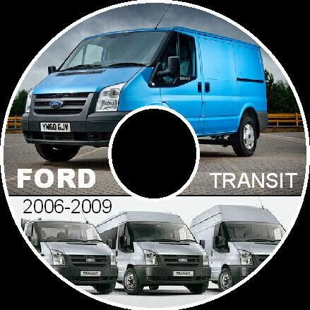 FORD TRANSIT VAN VM 2006-2010 WORKSHOP SERVICE REPAIR MANUAL PDF CD