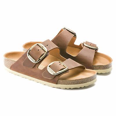Birkenstock Arizona Big Buckle Antique Brown Fat Leather Sandals Footbed Narrow   eBay