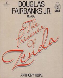 The-Prisoner-Of-Zenda-Anthony-Hope-2-Cassette-Audio-Book-Douglas-Fairbanks