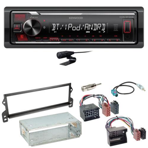 Kenwood KMM-BT205 Bluetooth USB AUX Autoradio Einbauset für MINI R50 R52 R53