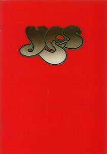 YES 1975 NORTH AMERICAN SUMMER RELAYER TOUR PROGRAM BOOK BOOKLET / NMT 2 MINT